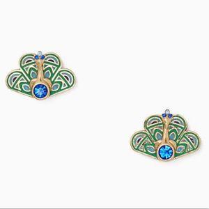 Kate Spade Peacock Earrings NWT